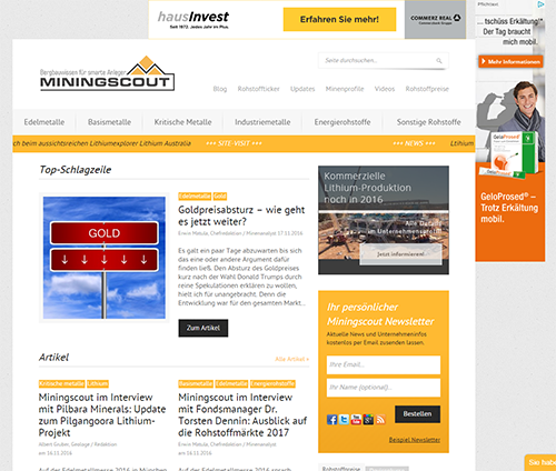 screen miningscout